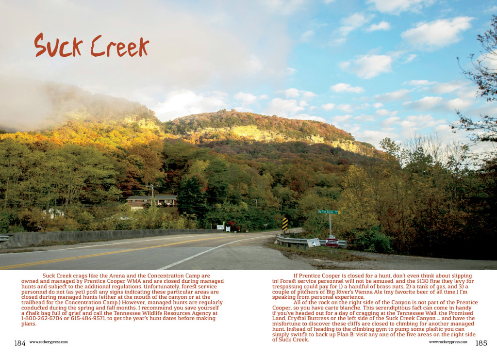 Suck Creek Cover